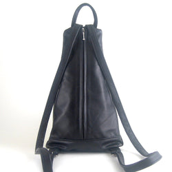 Euro Backpack #503 in solid color leathers