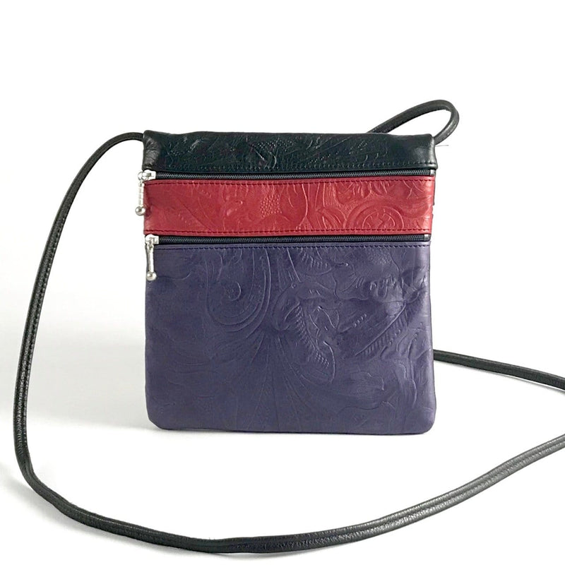 Med Color-blocked Cross-body Cell Phone Bag #76