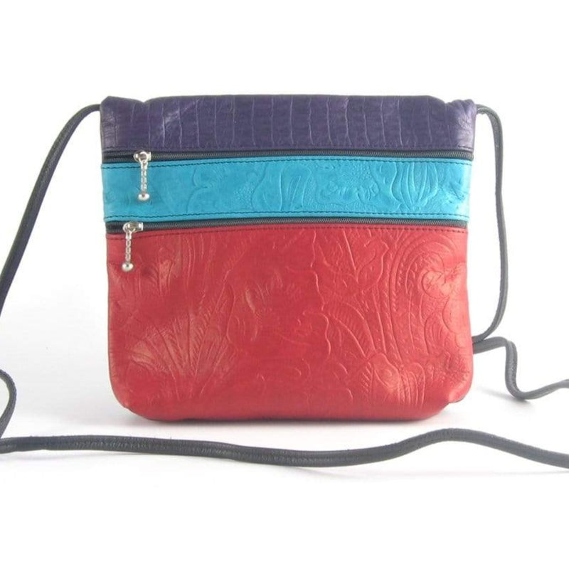 86	Lg Color-blocked cross-body bag