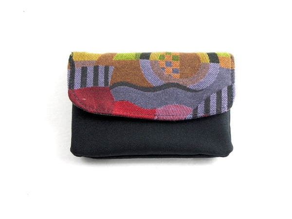Medium Fabric Clutch Flap Wallet CW