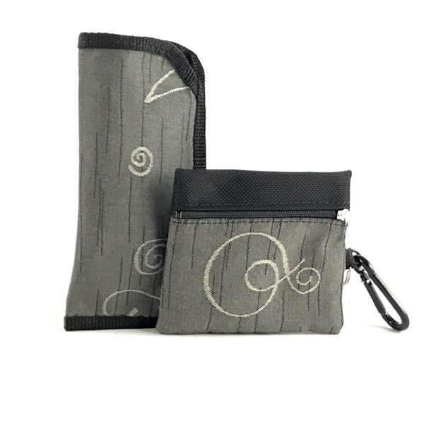Gift Sets - Glass Case and 2 Zip Change Purse