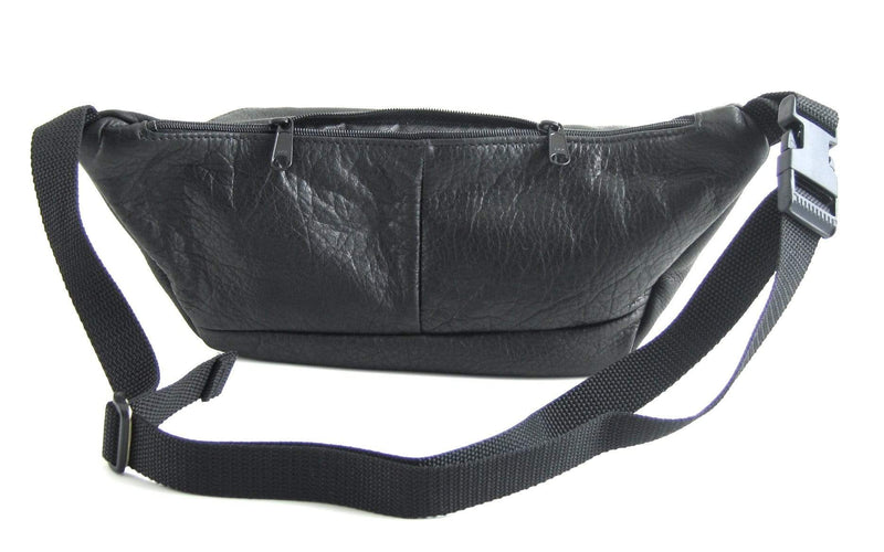 Large Leather Fanny pack with Accent - LFPJ