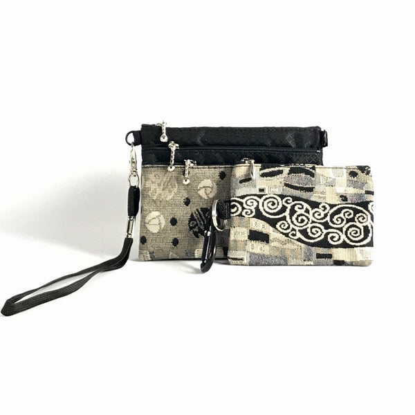 Gift Sets - 39R 3 zipper Organizer and 1 Zip Change Purse