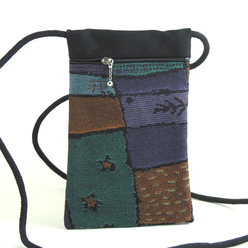 Vintage Fabrics CrossBody Large Cell Phone Bag T12S