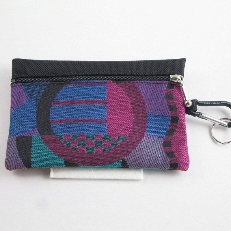 Two zipper medium organizer pouch with clear window - T36ID