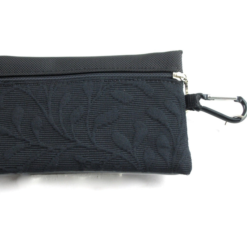 Two zipper cosmetic bag - organizer pouch T36