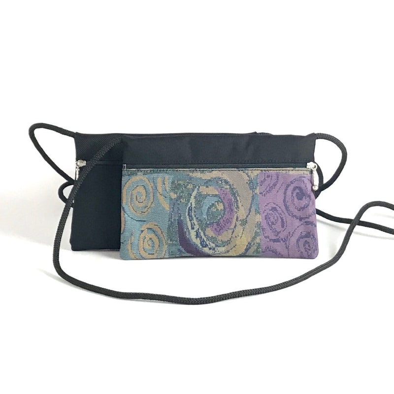 Two-Tone E-W Cross-body Cell Phone Bag T56S