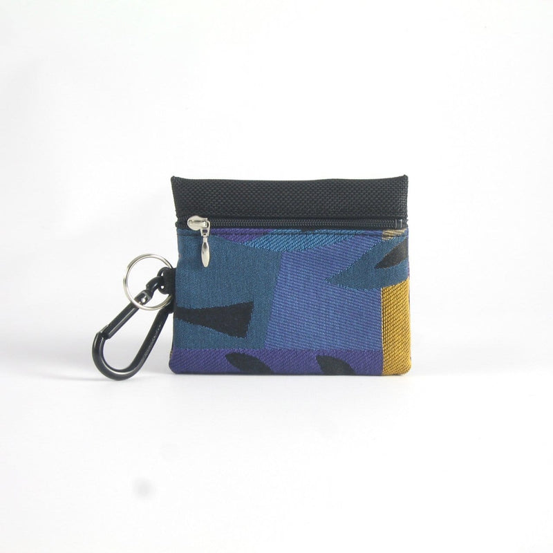 Two zipper change & card wallet - T7