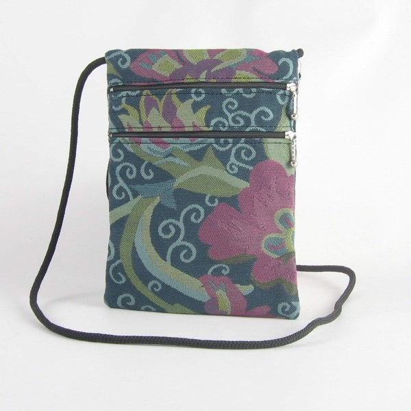 N-S Two zipper Travel Purse T8