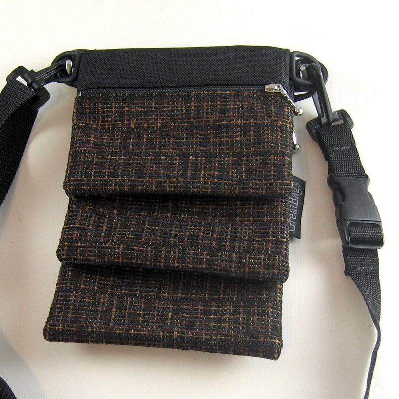 "Vintage Fabrics Small Connectables® Set A123 with 1"" wide convertible strap"