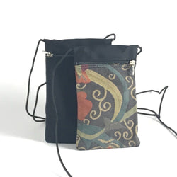 Two-Tone CrossBody Small Cell Phone Bag T10S