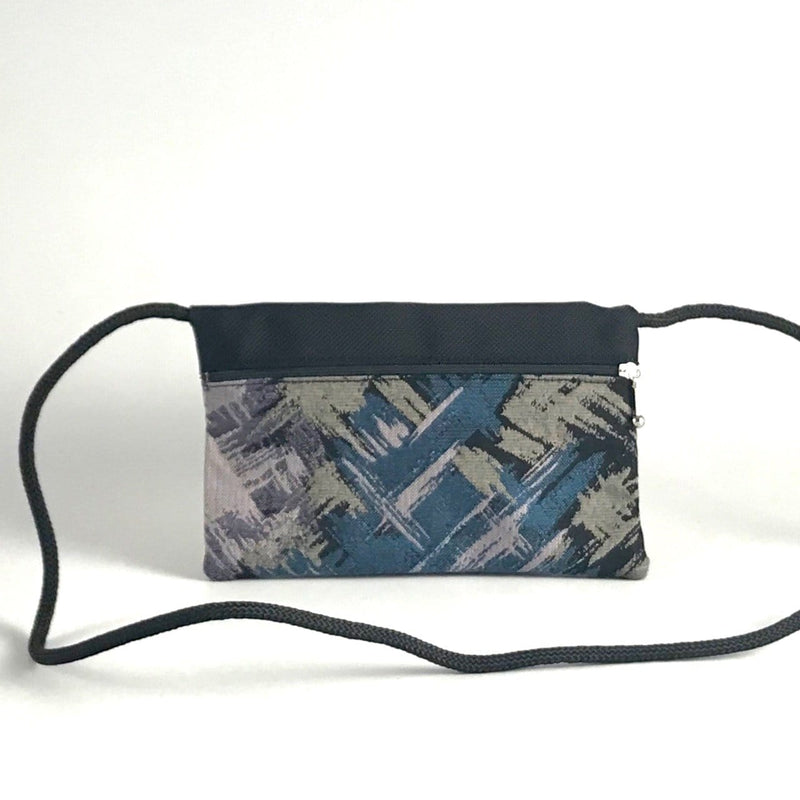 Vintage Fabrics E-W Cross-body Cell Phone Bag T56S