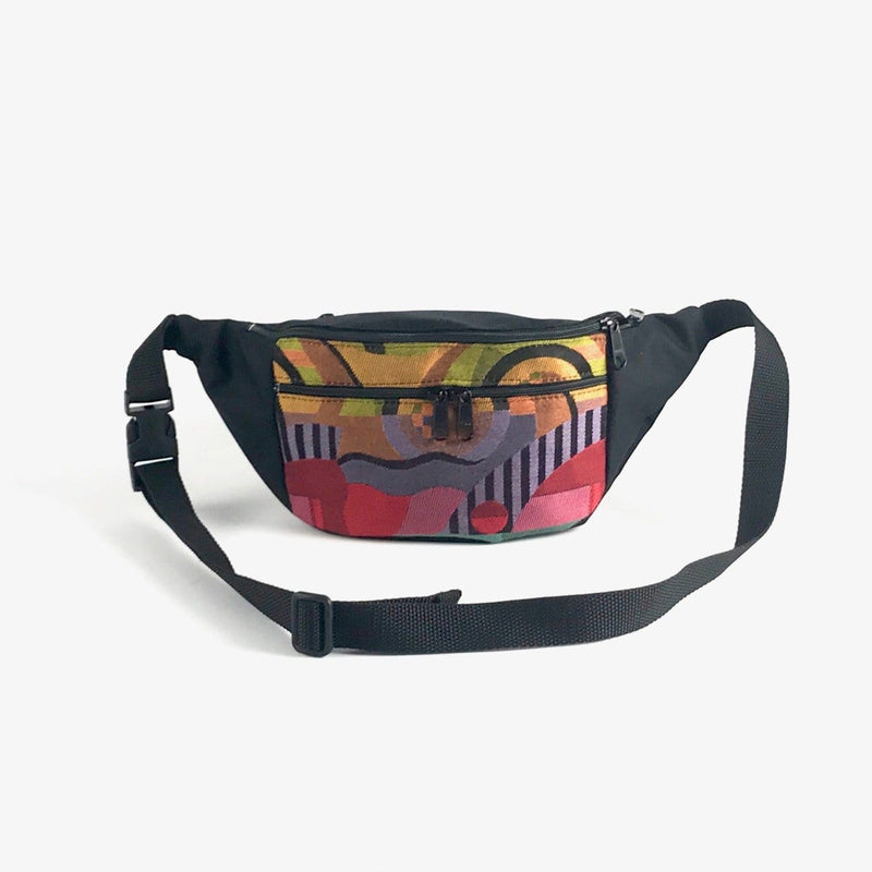 New - Our Large Fanny pack in Fabric with Tapestry Accent Pocket- TLFP