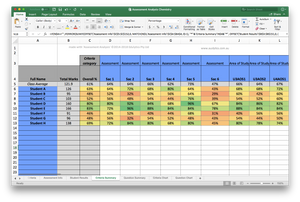 General Assessment Analysis Spreadsheet - Individual Licence