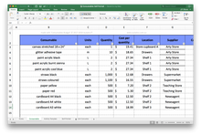 Load image into Gallery viewer, Consumables Budget Spreadsheet - School Site Licence
