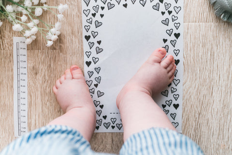 Foot Measurement Printable