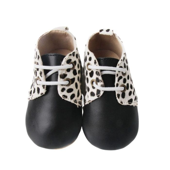 Animal Print Boots above view