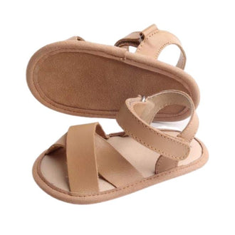 -Toddler-Sandals-Side-View-Coffee-Colour