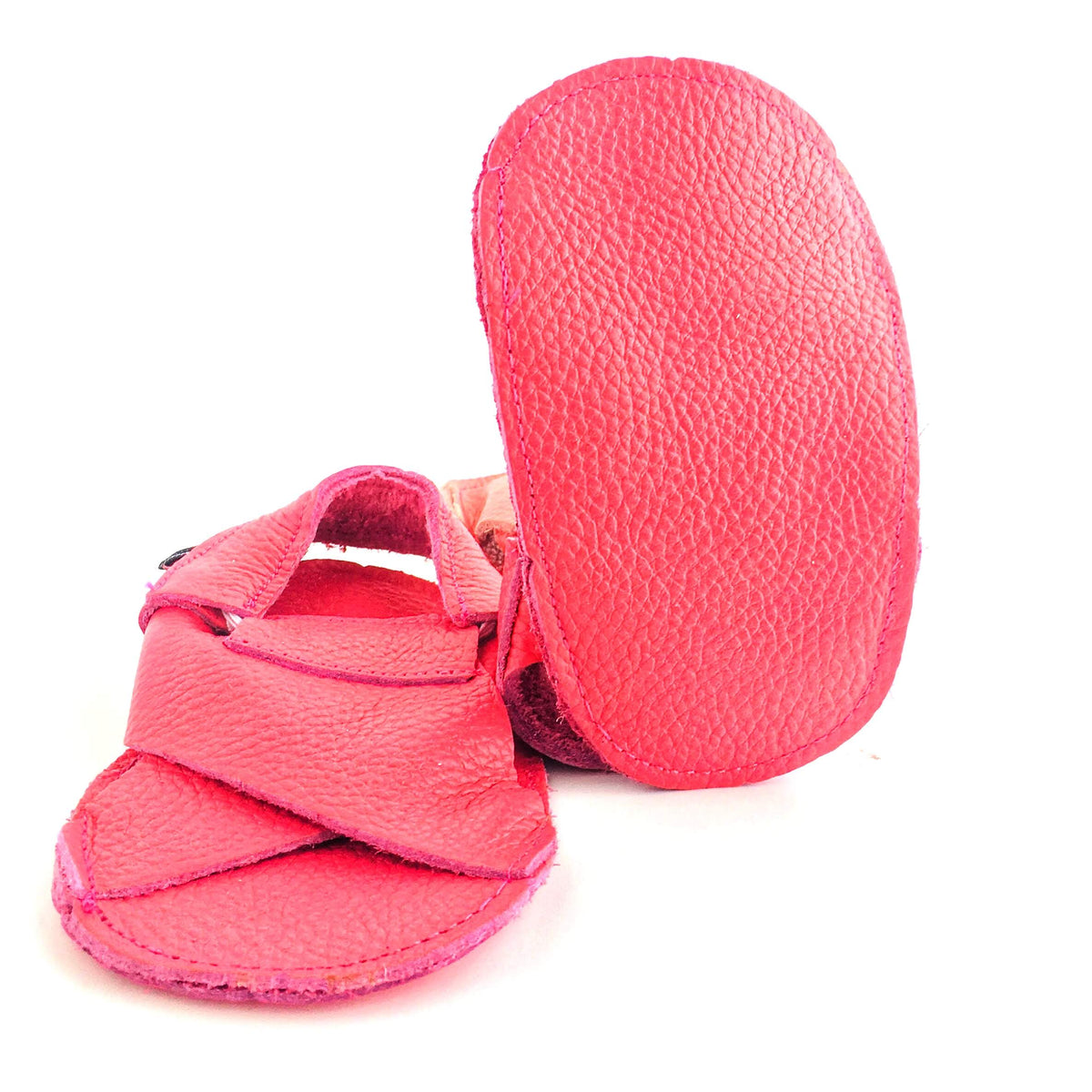 Cross Soft Sole Sandal Sole View Melon Colour
