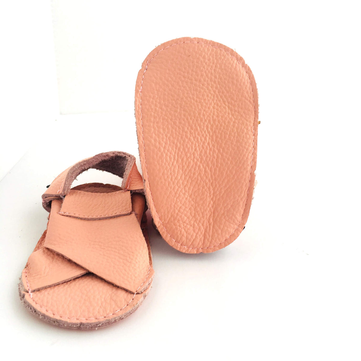 Cross Soft Sole Sandal Sole View Blush Pink Colour