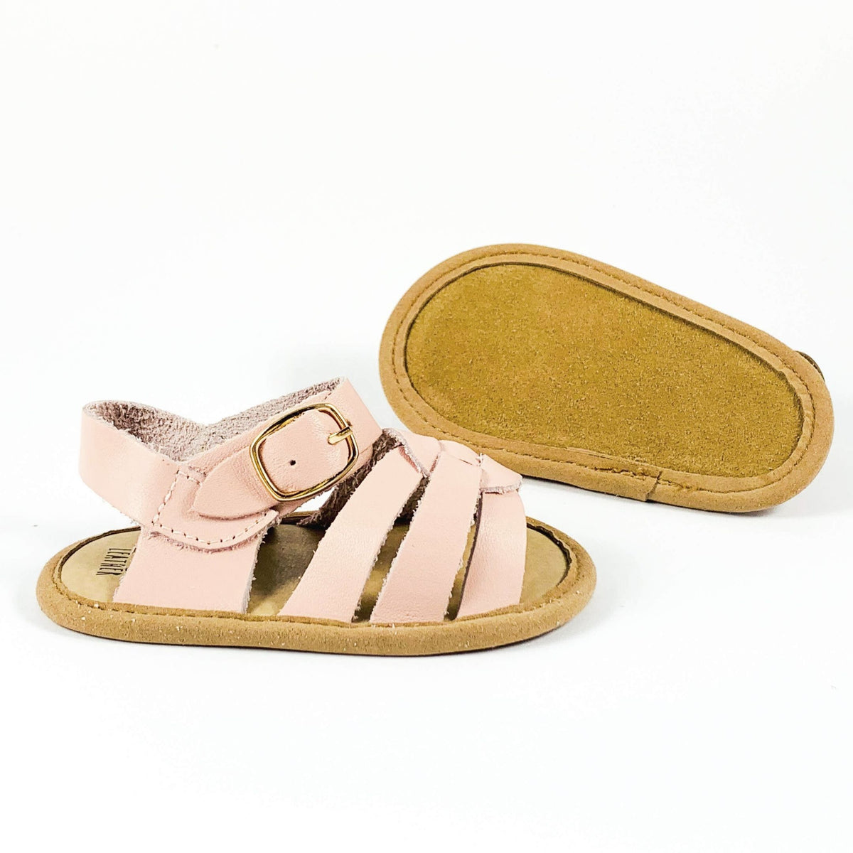 Soft Sole Kids Sandal Sole View Pink Colour