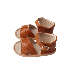 Caramel Toddler Sandals | Grip Sole