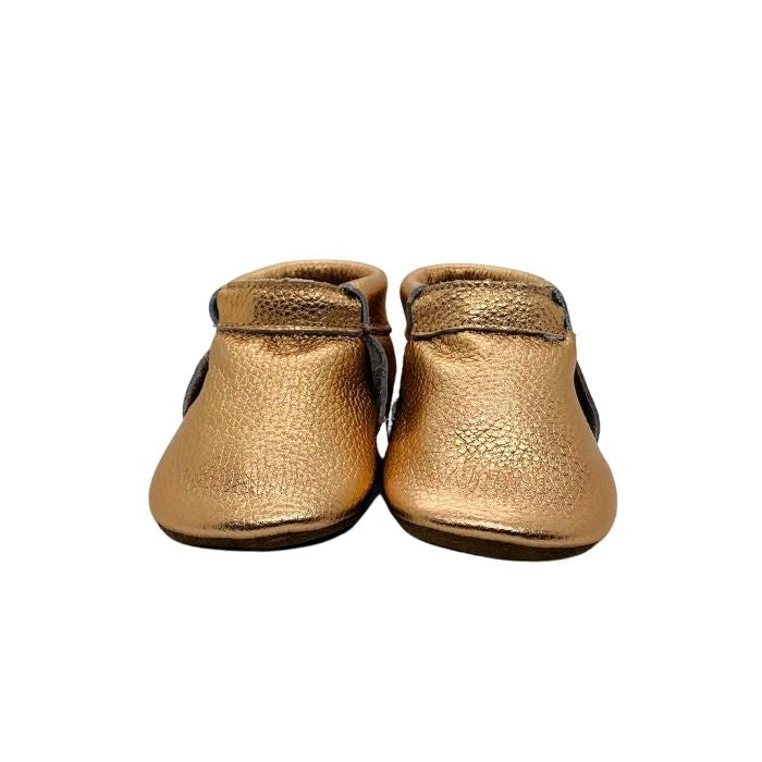 Baby Soft Soled Shoes | Rose Gold