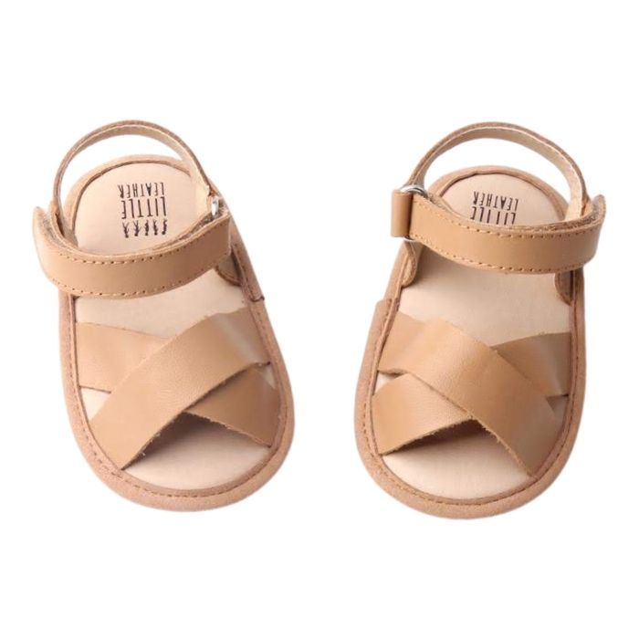 Chocolate Smoothie Rowie Toddler Sandals | Soft Sole