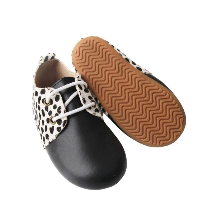 Toddler Boots Animal Print Grip Sole View