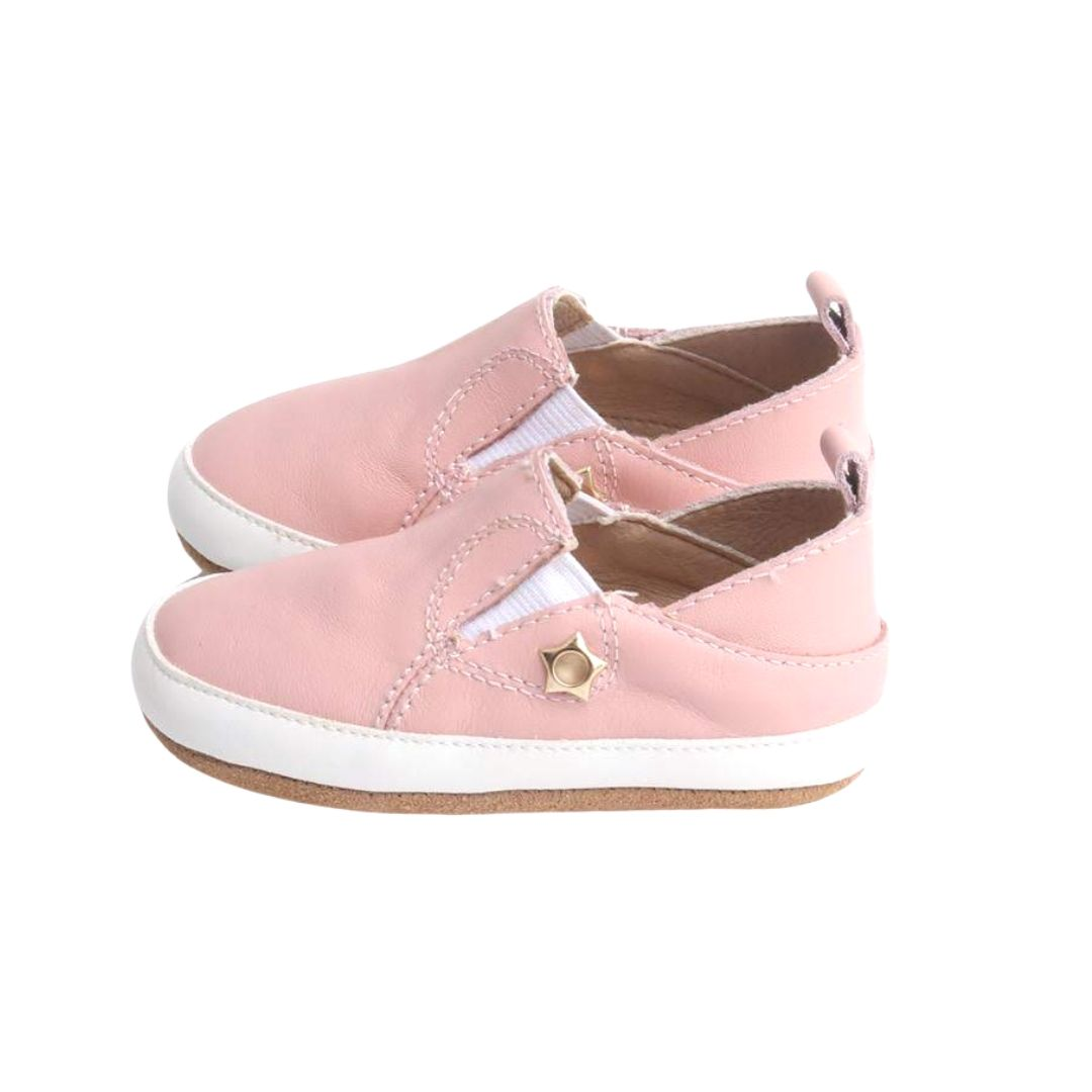 Pink Marshmellow Sneaks | Grip Sole