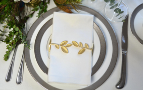 Leaf Wrap SET(4) - Matte Gold