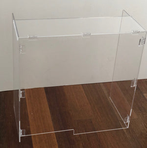 Our portable sneeze guard plexiglass shield is sturdy and high quality.