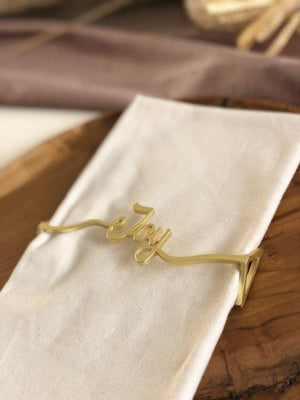 Joy Wrap SET(4) - Matte Gold