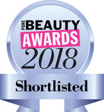 Beauty awards 2018 shortlist badge