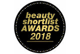 Beauty Shortlist awards 2018 badge