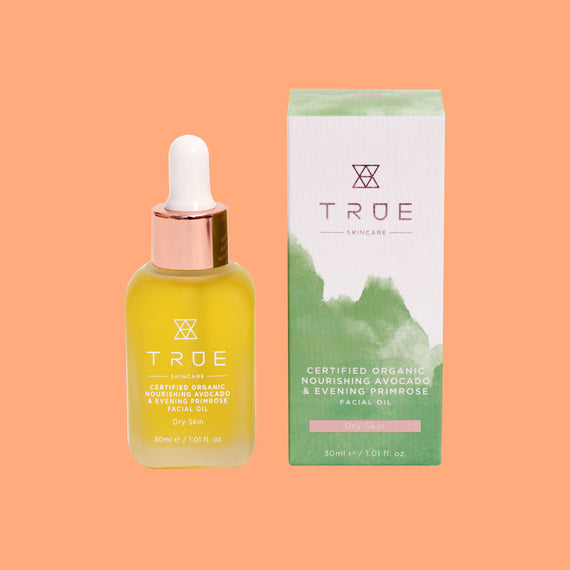 True Skincare Organic Nourishing Avocado & Evening Primrose Facial Oil
