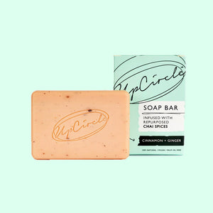 UpCircle Cinnamon & Ginger Chai Soap Bar