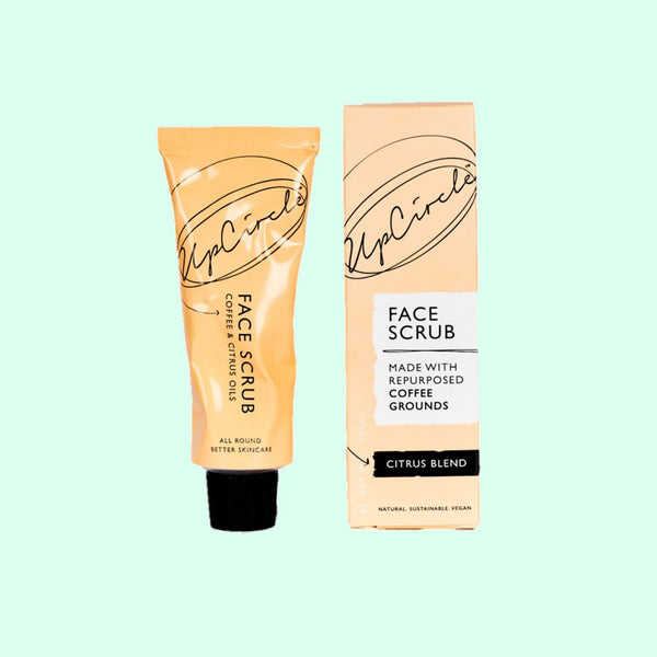 UpCircle Coffee Face Scrub in Citrus Blend
