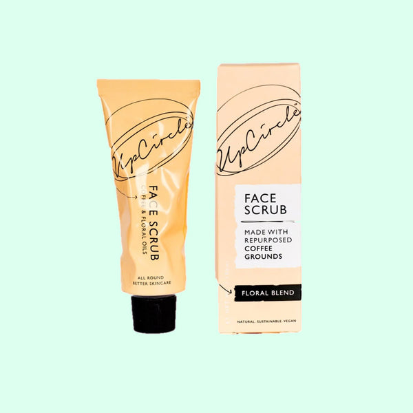 UpCircle Coffee Face Scrub in Floral Blend