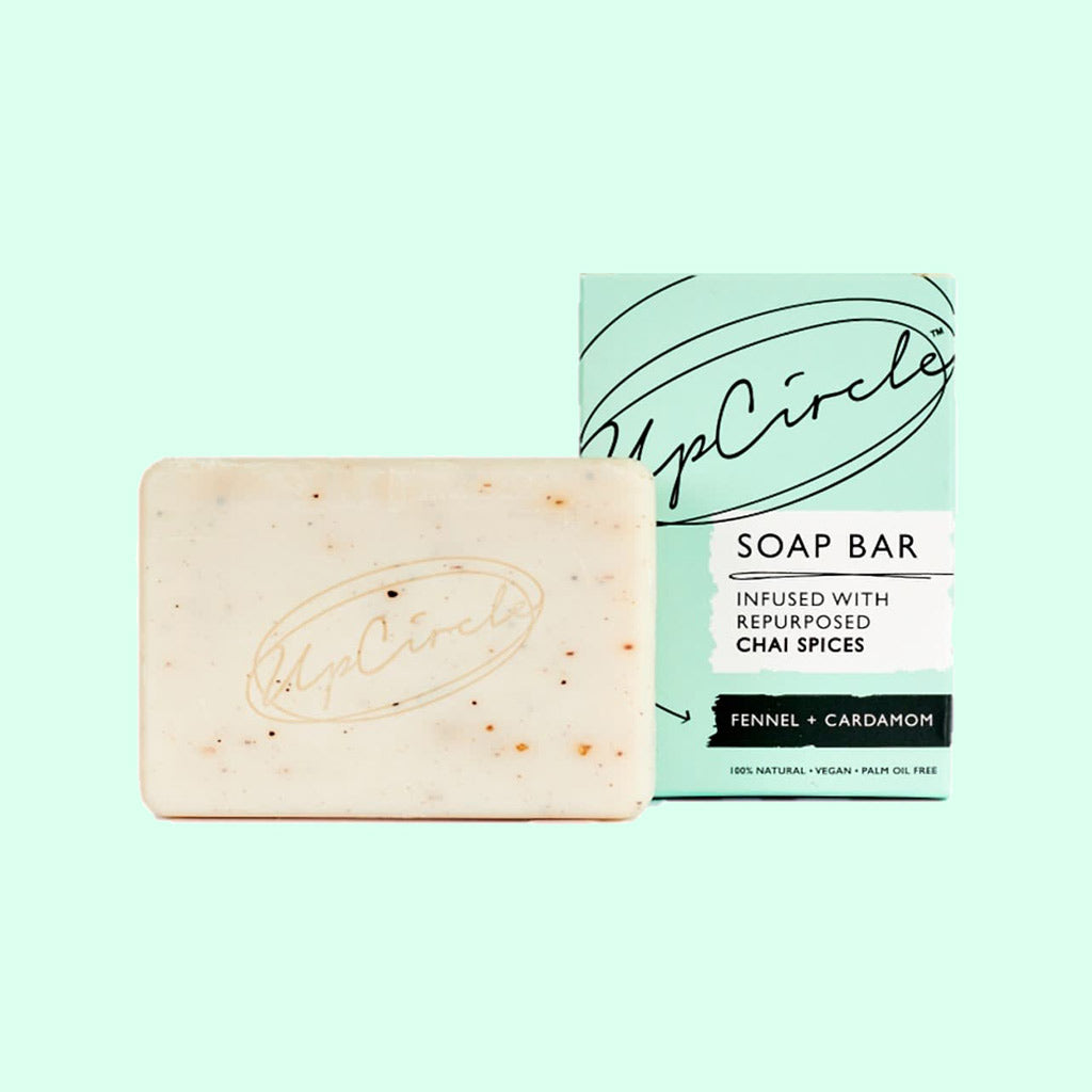 UpCircle Fennel & Cardamom Chai Soap Bar
