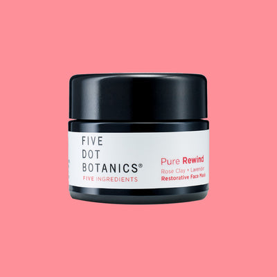 Five Dot Botanics Pure Rewind Restorative Mask screw-top container with label