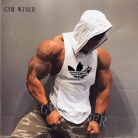 New Tank Top Hooded & Sleeveless Shirt