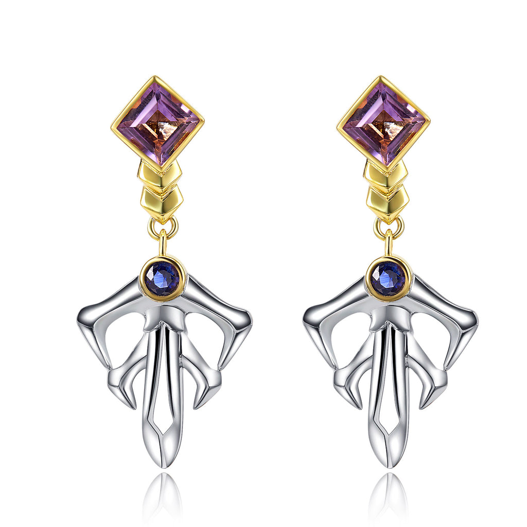 Spear Gae·Dearg Earrings | 18K Gold  or 925 Silver
