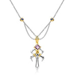 Spear Gae·Dearg Pendant | 18K Gold or 925 Silver