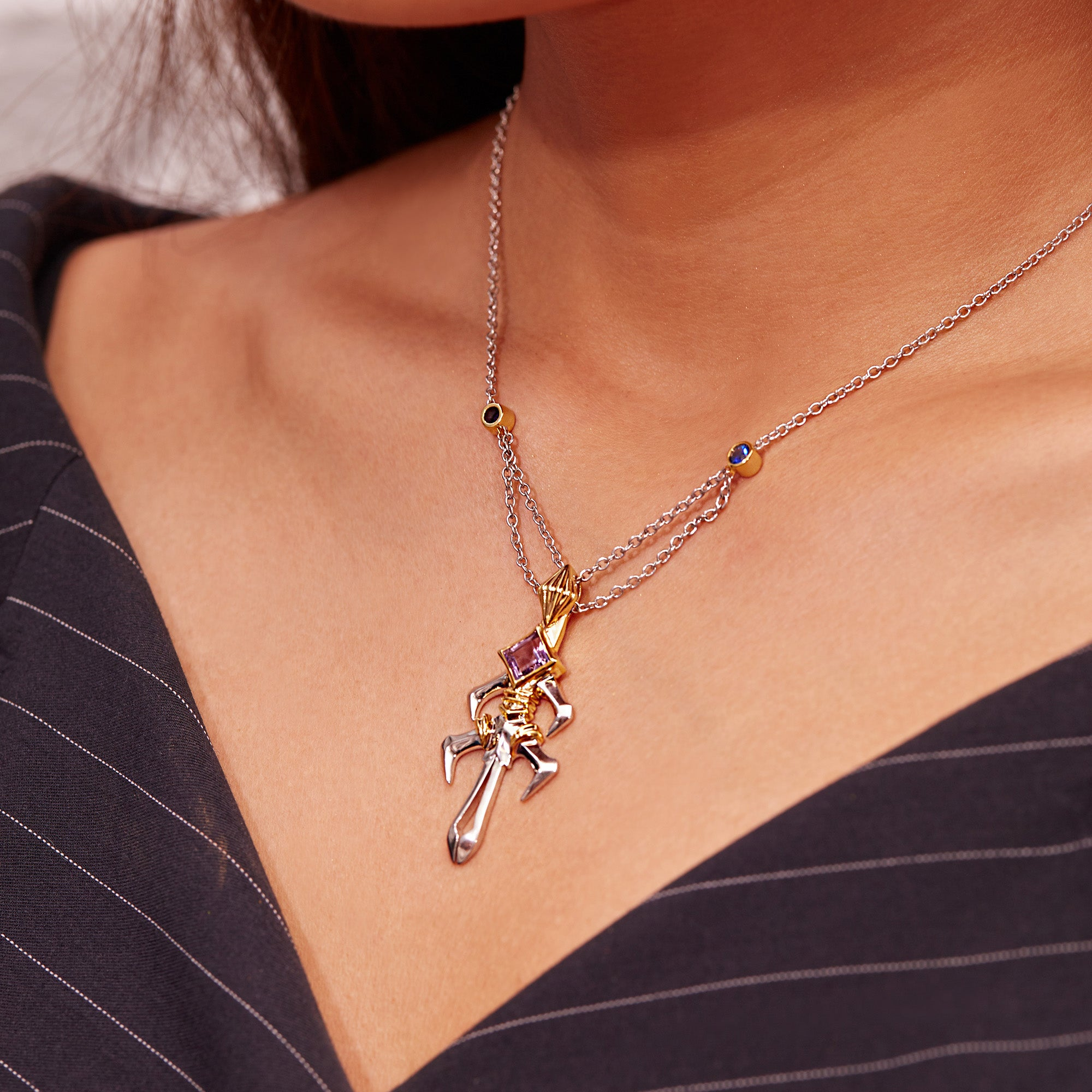 Spear Gae·Dearg Necklace | 18K Gold or 925 Silver