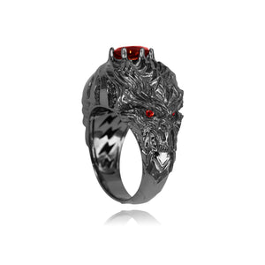 Lord of Terror Ring | 925 Silver