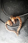 Lovers of Valdaro Skull Heart Shape Pendant