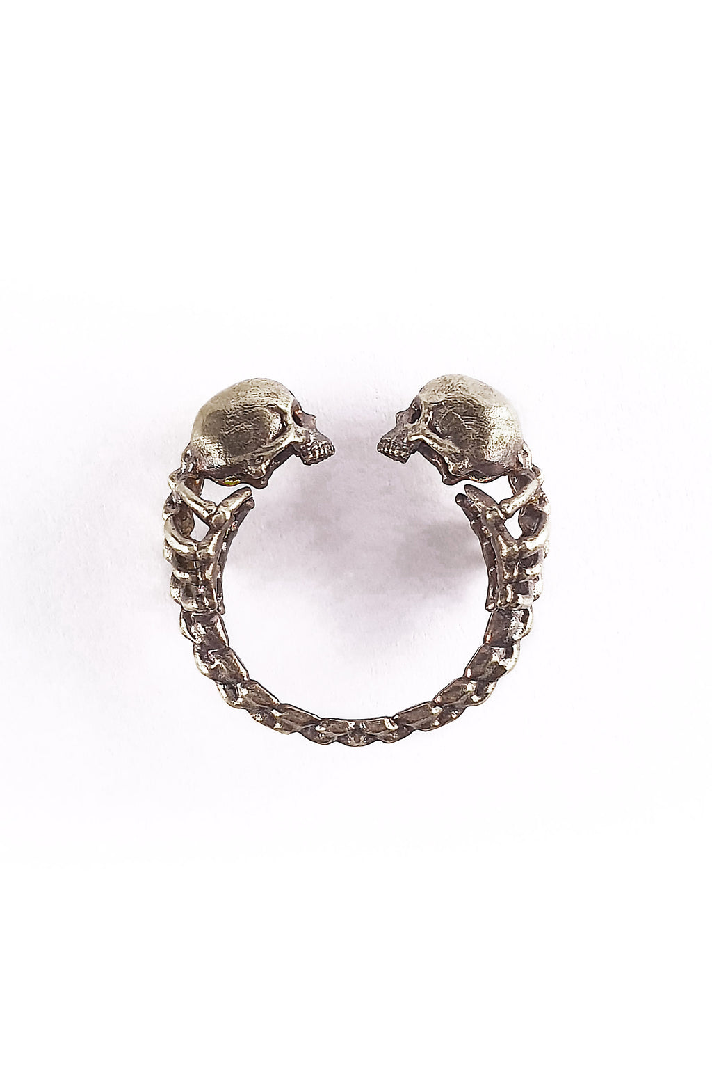 Adjustable Lovers of Valdaro Skull Ring