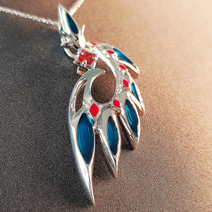 Royal Staff Pendant | 925 Silver