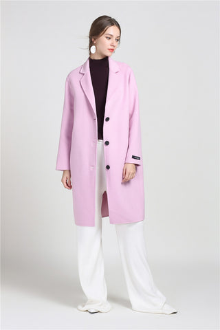 Cashmere Blend Walking Coat